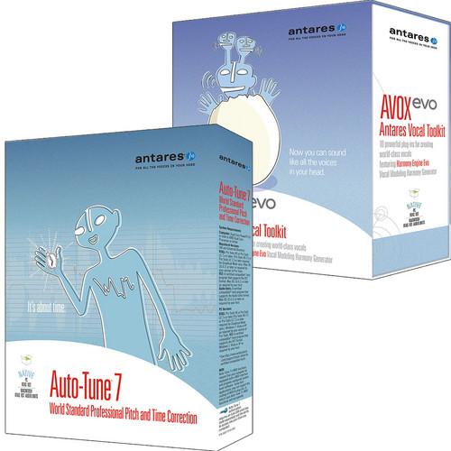 Antares Audio Technologies Auto-Tune 7 Vocal Studio - Audio Processing Software Bundle (TDM)