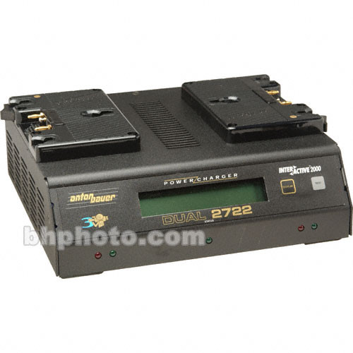 Anton Bauer D-2722 Anton Bauer Dual Position Charger and Power Supply