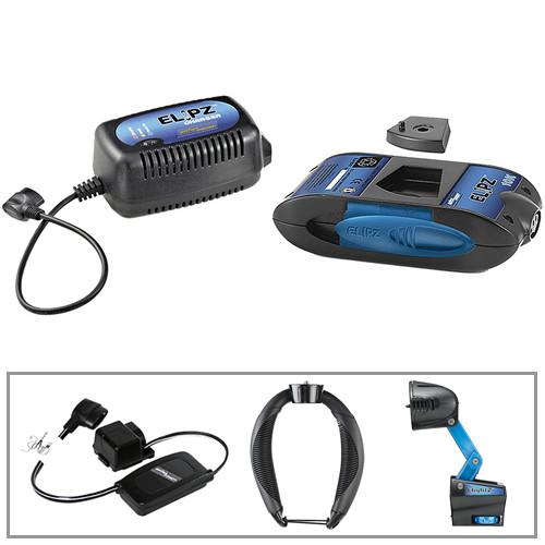 Anton Bauer On-Camera Light, Elipz 10K Battery, & Handheld Camcorder Support Kit