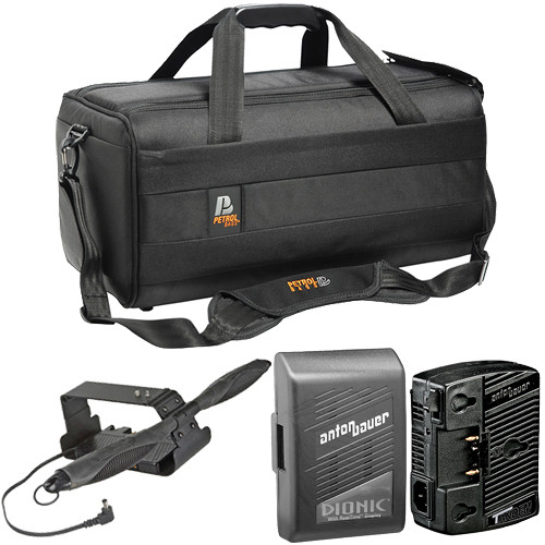 Anton Bauer QR-EX1K3 Camcorder Power Kit