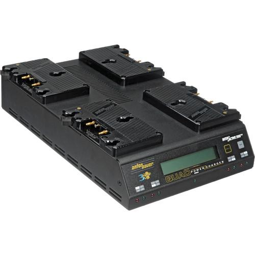 Anton Bauer Q-2702 4-Position PowerCharger