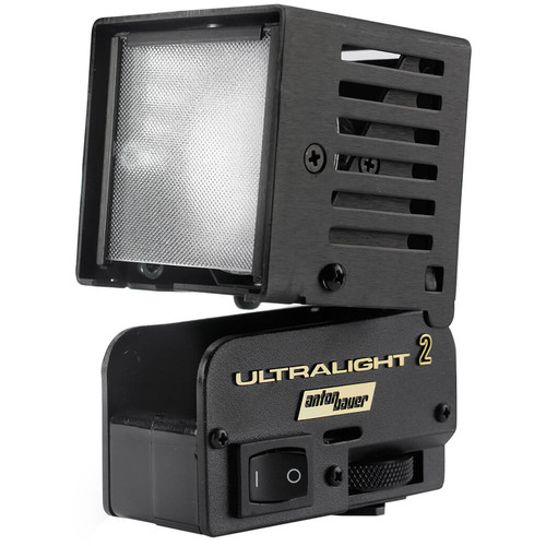 "Anton Bauer UL2-20 Ultralight-2 On-Camera Light with 20"" PowerTap Cable"