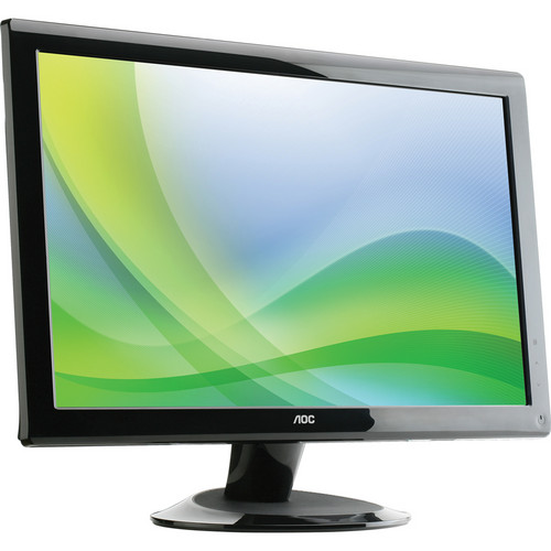 "AOC 2436VW 24"" Class LCD Widescreen HD Monitor (Black)"