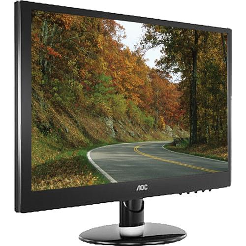 """AOC e2352Phz 23"""" LCD Monitor (Piano Black)"""
