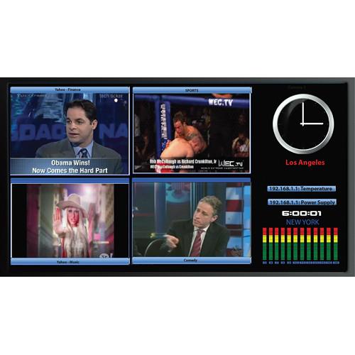 Apantac LE-4SD Four Input Auto-Detect SD-SDI / CV Multiviewer