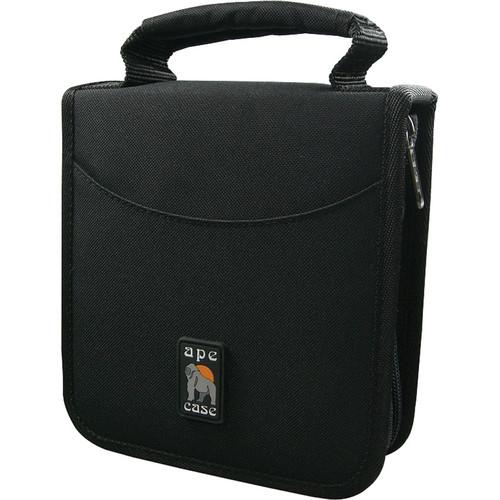 Ape Case AC12466 32 Disc CD/DVD/Gaming/Blu-Ray Case (Black)
