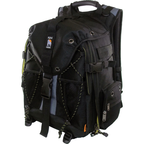 Ape Case ACPRO1900 Digital SLR and Laptop Backpack (Black)