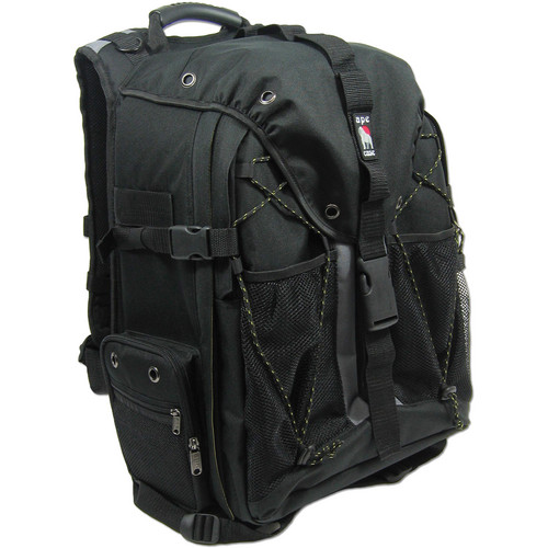 Ape Case ACPRO2000 Digital SLR and Laptop Backpack (Black)