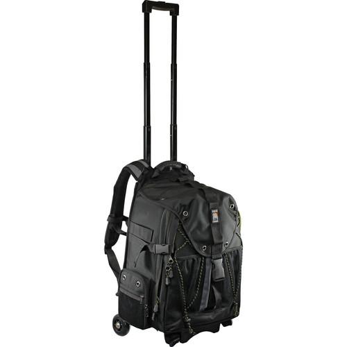 Ape Case ACPRO4000 Digital SLR and Laptop Roller Backpack (Black)