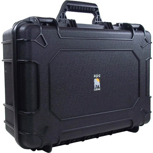 Ape Case ACWP6035 Medium Watertight Hard Case (Black)