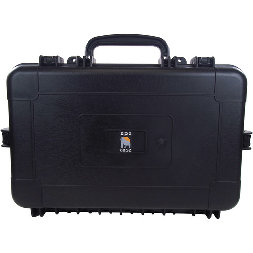 Ape Case ACWP6045 Large Watertight Hard Case (Black)