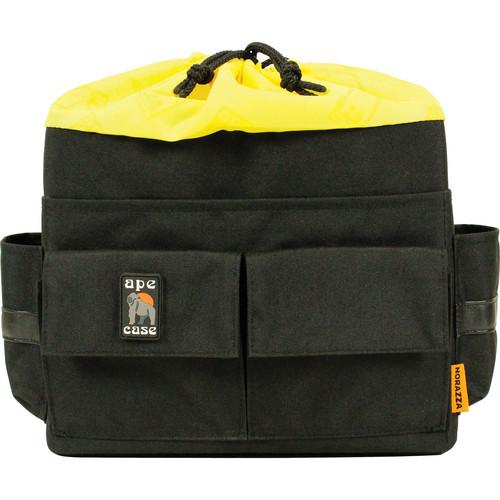 Ape Case Cubeze Case QB43 Flexible Storage Case (Black with Hi Vis Yellow Interior)
