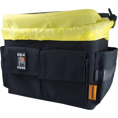 Ape Case Cubeze Case QB45 Flexible Storage Case (Black with Hi Vis Yellow Interior)