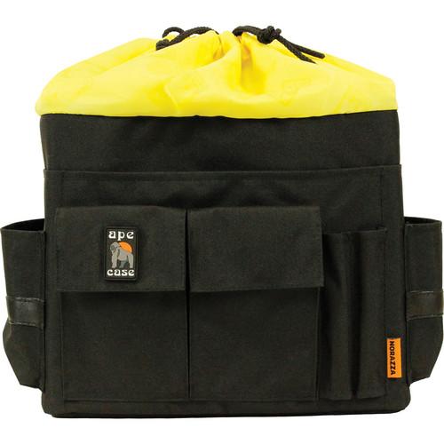Ape Case Cubeze Case QB47 Flexible Storage Case (Black with Hi Vis Yellow Interior)