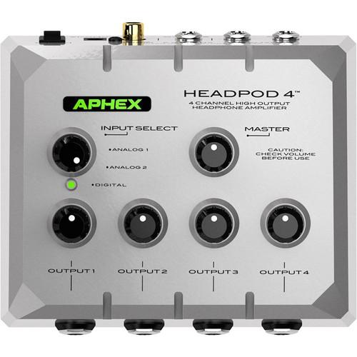 Aphex Headpod 4 High-Output 4-Channel Headphone Amplifier