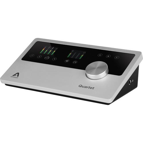 Apogee Electronics Quartet Desktop Studio Interface & Control Center for Mac & iOS Devices