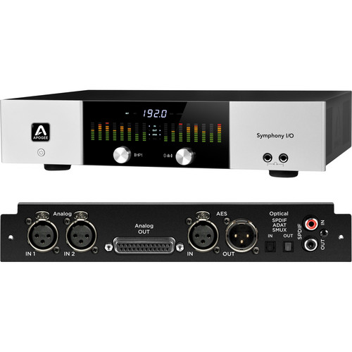 Apogee Electronics Symphony I/O Audio Interface (2x6)
