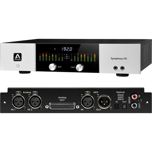 Apogee Electronics Symphony I/O Audio Interface (2x6)