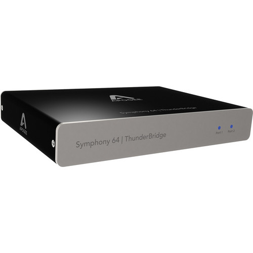 Apogee Electronics Symphony 64 / Thunderbridge - 64 Channel Thunderbolt Connection for Symphony I/O