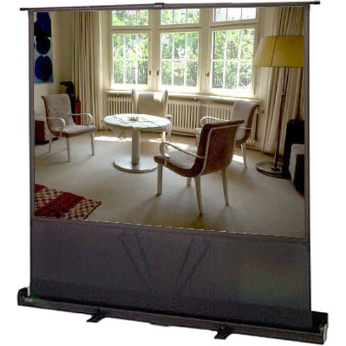 "Apollo Model 980S, Quartet Euro 80"" Portable Cinema Screen - 47 x 63"" - 80"" Diagonal - Video Format (4:3 Aspect Ratio)"