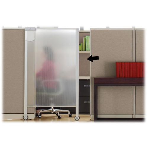 Apollo WPS2000 Workstation Privacy Screen - 38 x 65""