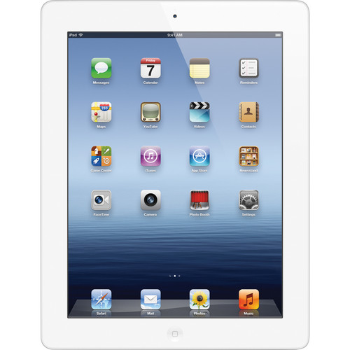 Apple 16GB iPad with Wi-Fi (3rd Gen, White)