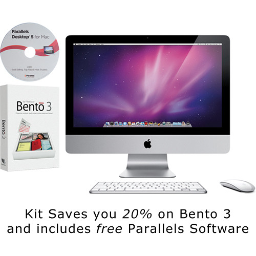"Apple 21.5"" iMac Desktop Computer (Late 2009) with Bento 3 and Parallels 5 Software"
