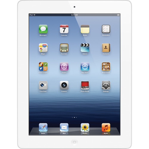 Apple 32GB iPad with Wi-Fi (3rd Gen, White)