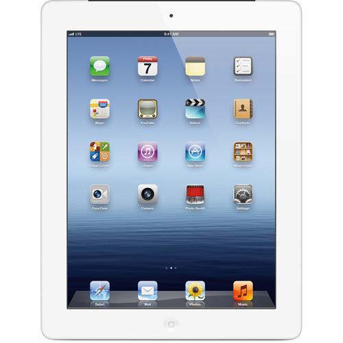 Apple 64GB iPad with Wi-Fi + 4G LTE (3rd Gen, Verizon, White)