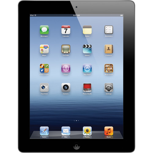 Apple 64GB iPad with Wi-Fi (3rd Gen, Black)