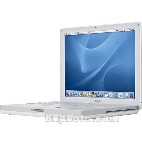 apple 14 ibook g4 notebook computer m9848ll a b h photo. Black Bedroom Furniture Sets. Home Design Ideas