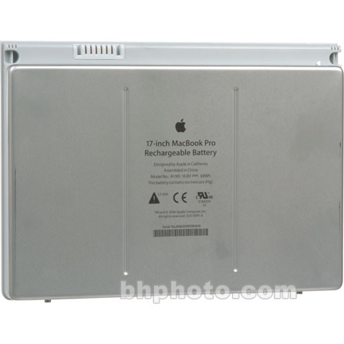 Apple Rechargeable Battery for 17-Inch MacBook Pro