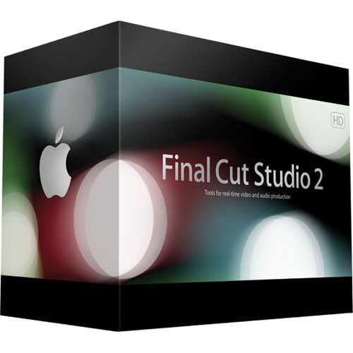 Apple Final Cut Studio 2 Production Software Suite for Mac - Final Cut Pro 6, Motion 3, Soundtrack Pro 2, Color, Compressor 3, DVD Studio Pro 4