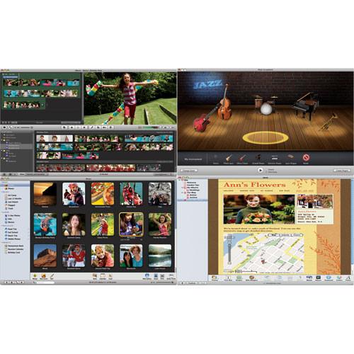 Apple iLife '08 Software Bundle for Mac OS X - Single User
