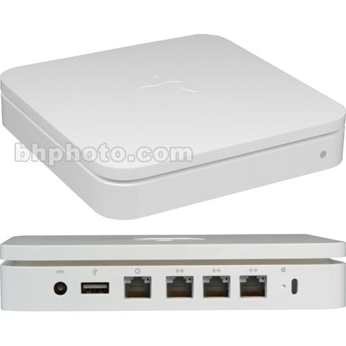 Apple AirPort Extreme Base Station - 802.11a/b/g/n - Gigabit Ethernet