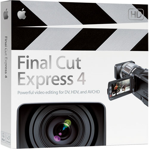 Apple Final Cut Express 4 Video Editing Software for Mac OS X