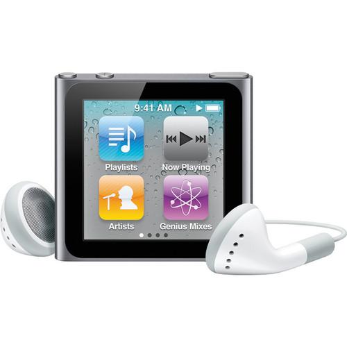 Apple 8GB iPod nano (Silver) (6th Generation)