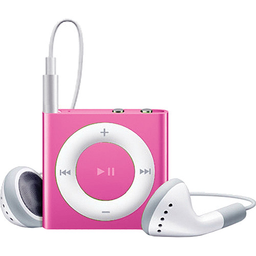 Apple 2GB iPod shuffle (Pink, 4th Generation)