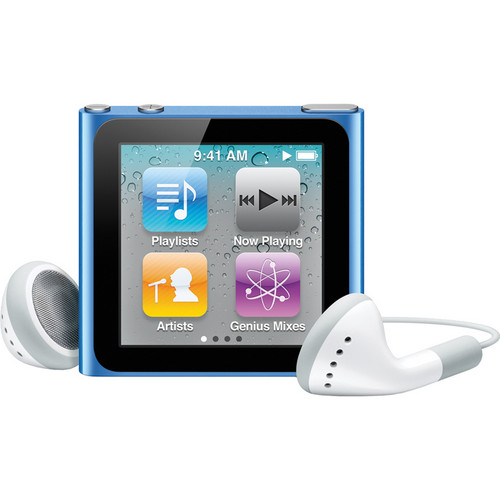 Apple 8GB iPod nano (Blue) (6th Generation)