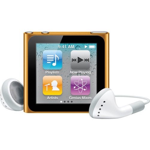 Apple 16GB iPod nano (Orange) (6th Generation)