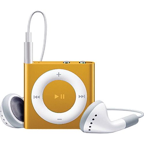 Apple 2GB iPod shuffle (Orange, 4th Generation)