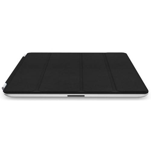Apple iPad Smart Cover for the iPad 2 and new iPad (Leather, Black)