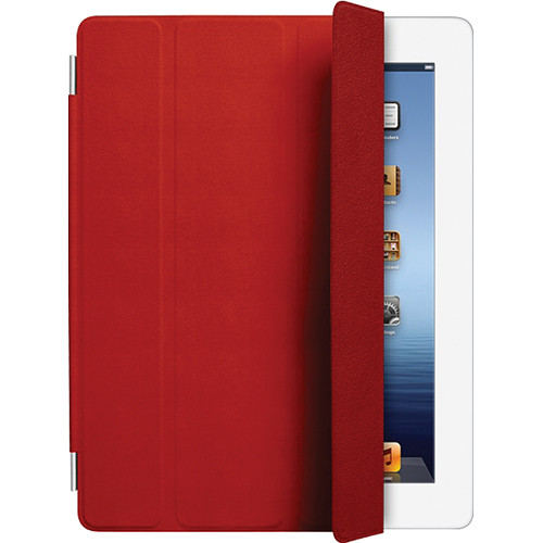 Apple iPad Smart Cover for the iPad 2 and new iPad 3 (Leather ,Red)
