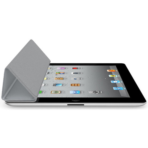 Apple iPad Smart Cover for the iPad 2 and new iPad (Polyurethane, Light Gray)