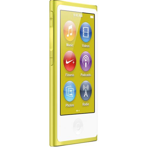 Apple 16GB iPod nano (Yellow, 7th Generation)