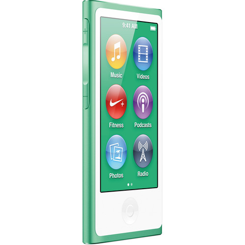 Apple 16GB iPod nano (Green, 7th Generation)