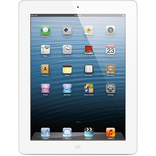 Apple 64GB iPad with Retina Display and Wi-Fi (4th Gen, White)