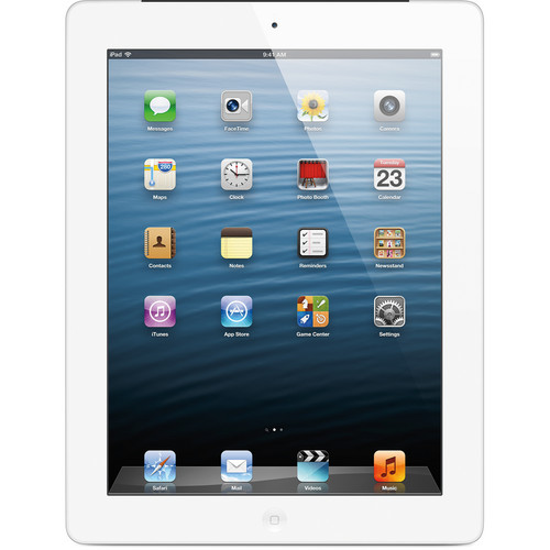 Apple 32GB iPad with Retina Display and Wi-Fi + 4G LTE (4th Gen, AT&T, White)