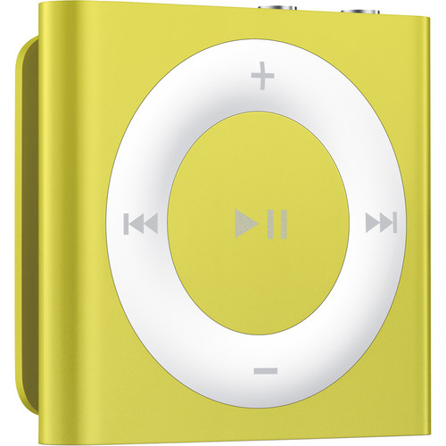 Apple 2GB iPod Shuffle (Yellow, 4th Generation)