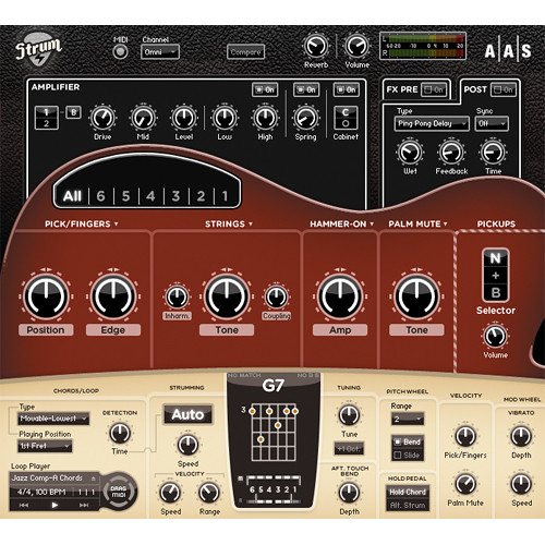 Applied Acoustics Systems Strum Electric GS-1 - Electric Guitar Modeling Plug-in